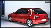 Mi primer modelado Peugeot 306-306en3d24rojoemitrasera.jpg