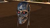 Modelado cabeza Terminator  arnold Swarzenneger   T-101 -env_02.jpg