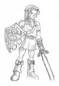 Dibujos rapidos , Bocetos  y apuntes  en papel -link_oot.jpg