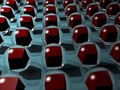 Como iluminar atraves de cristal con YafRay -esferas.jpg