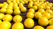 Escenas renderizadas en Cycles   algunos un poco abstractos -happy_balls_cycles.png