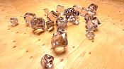 Escenas renderizadas en Cycles   algunos un poco abstractos -softbody_cubes_cycles.png