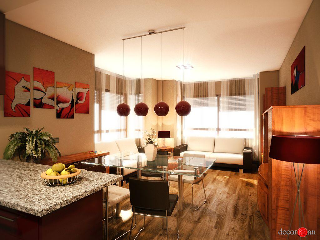Dise o de interiores en 3d de vivienda en madrid - Software decoracion interiores ...