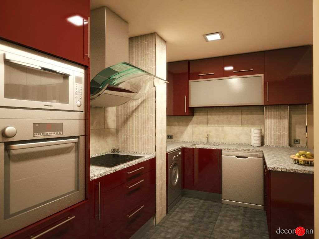 Dise o de interiores en 3d de vivienda en madrid for Diseno interiores 3d