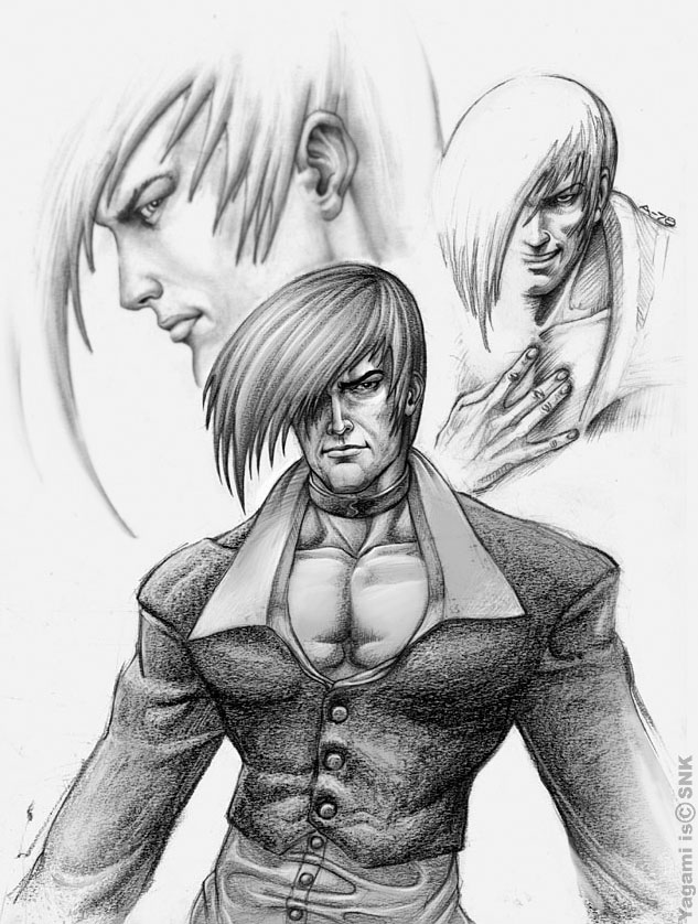 Algo A Lapiz Yagami Personaje Del King Of Fighters Picture
