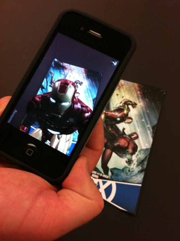 Comics Marvel con realidad aumentada-marvel_ar_phone_iron_man_610x816.jpeg