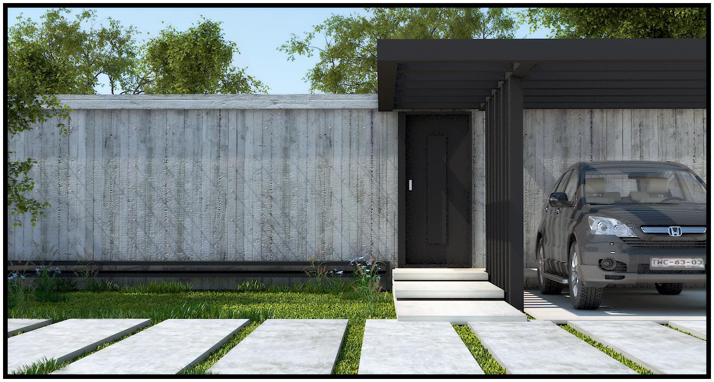 Jardin de concreto - Jardineras de cemento ...