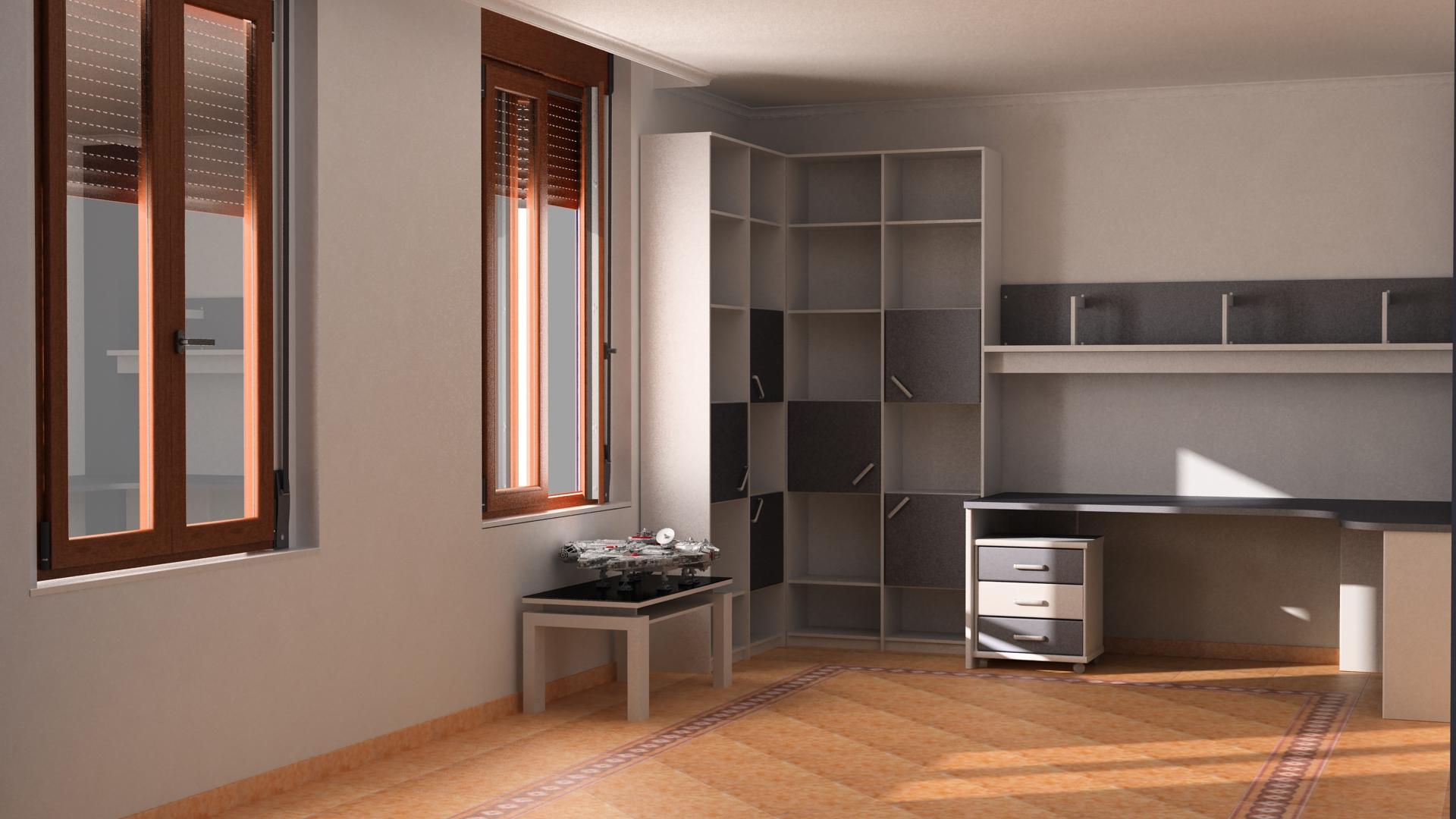 Poniendome al dia modelando mi habitacion for Modelar habitacion 3d max