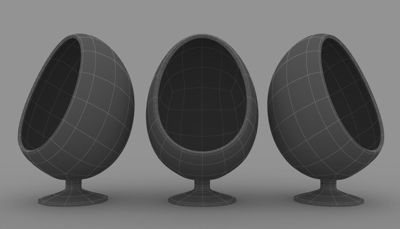 Ovalia la mitica silla huevo for Silla huevo precio