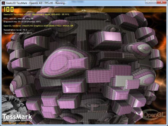 Pruebas del controlador grafico de Intel version 2729-tessmark-opengl4-intel-hd4000-gpu.jpg