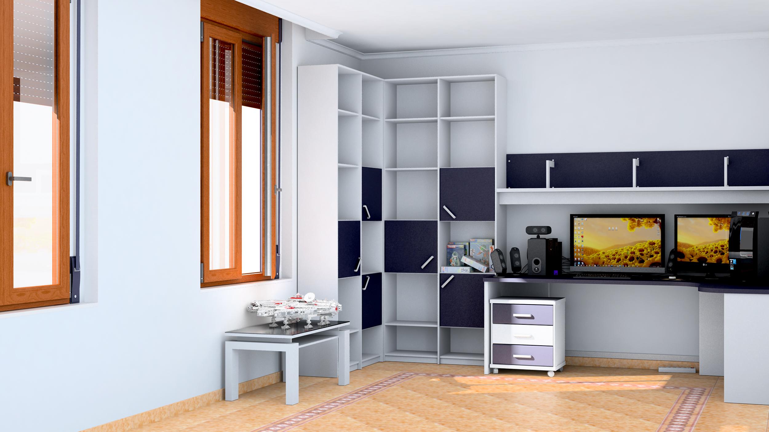 Poniendome al d a modelando mi habitacion for Modelar habitacion 3d max