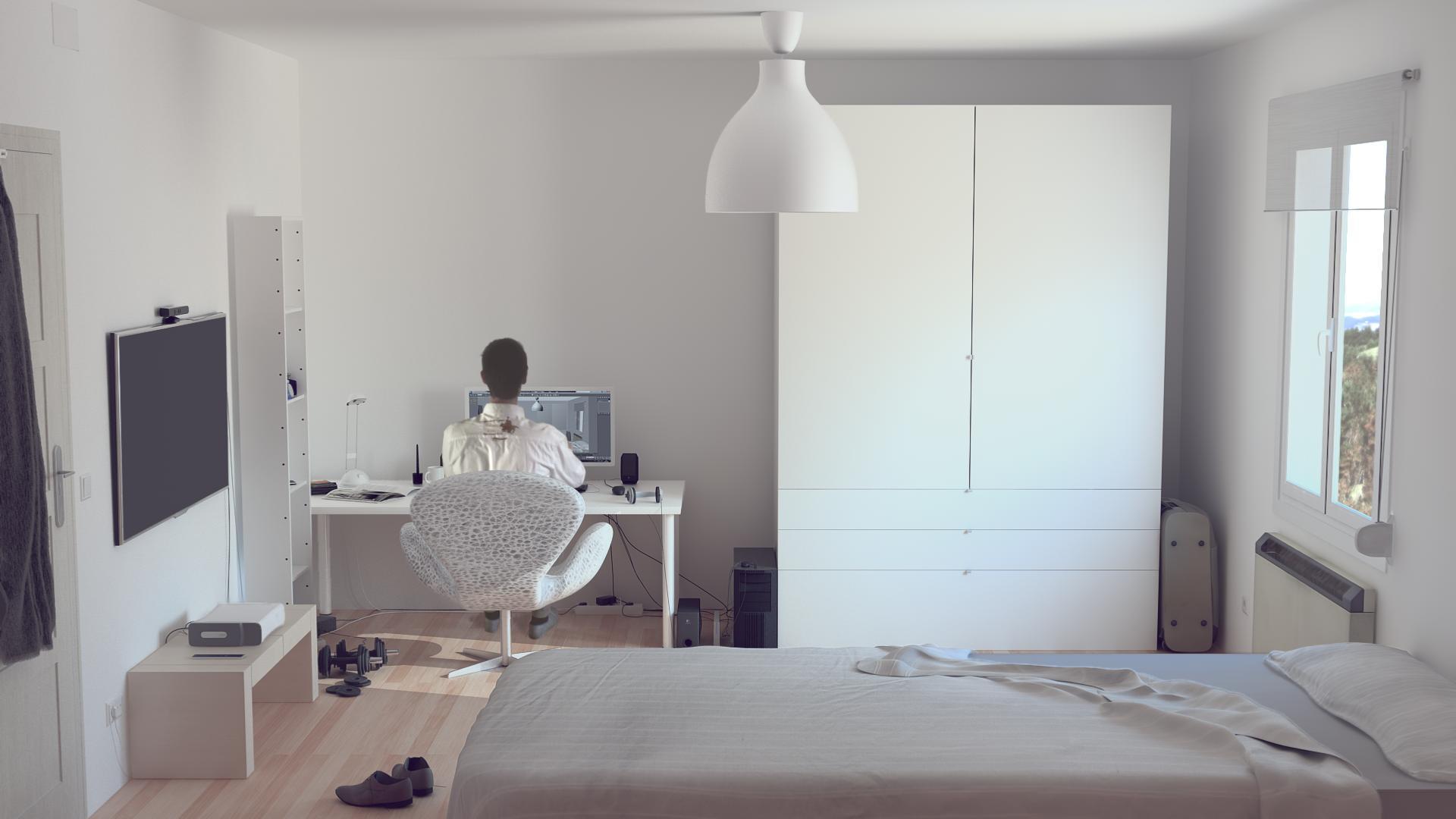 Mi habitacion for Disenar mi habitacion 3d