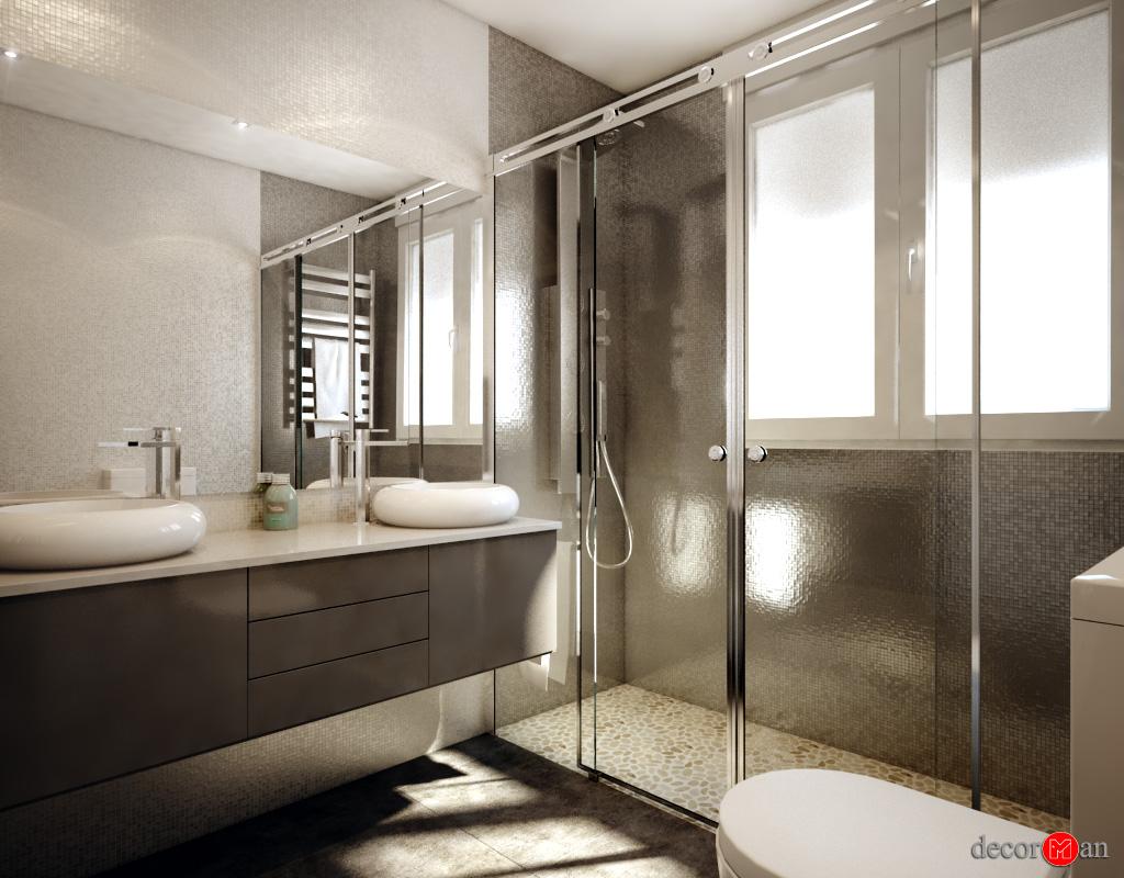 nuevo proyecto 3d de dise o de ba os On diseños de guardas para baños