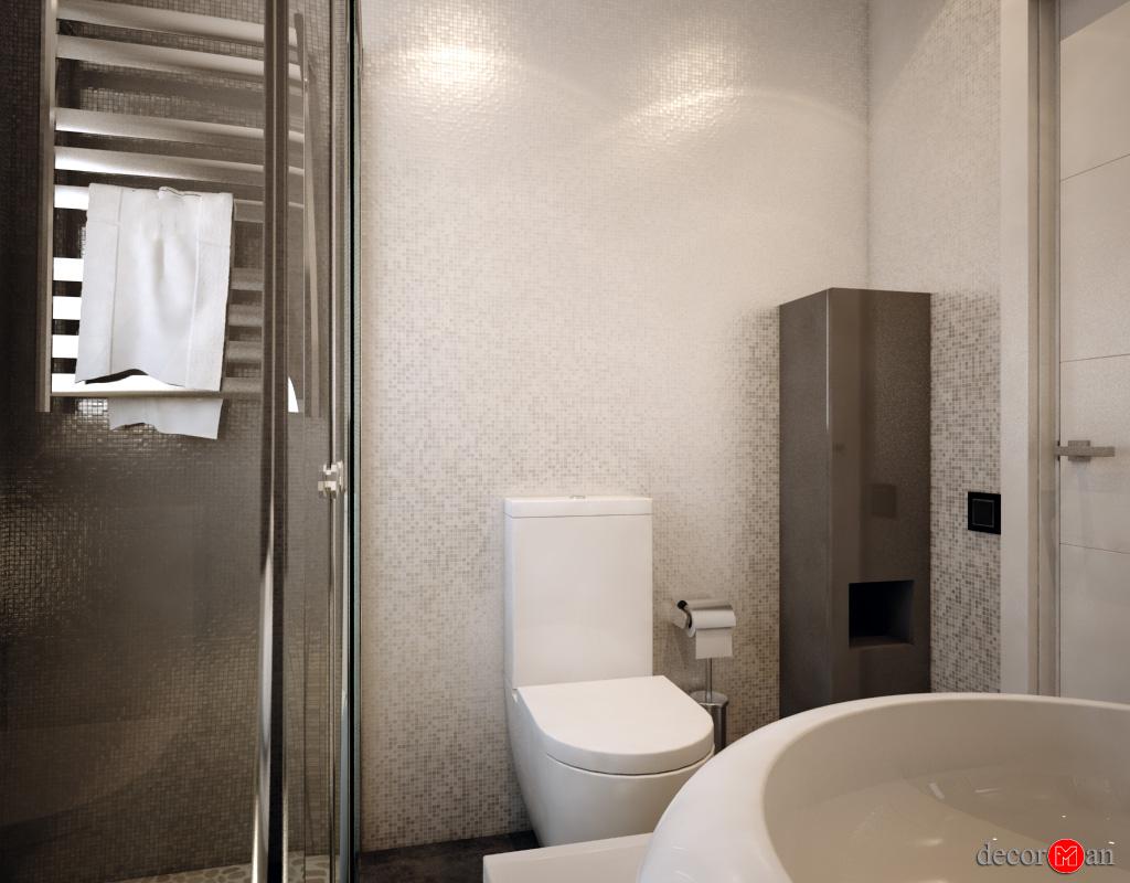 Nuevo proyecto 3d de diseño de baños
