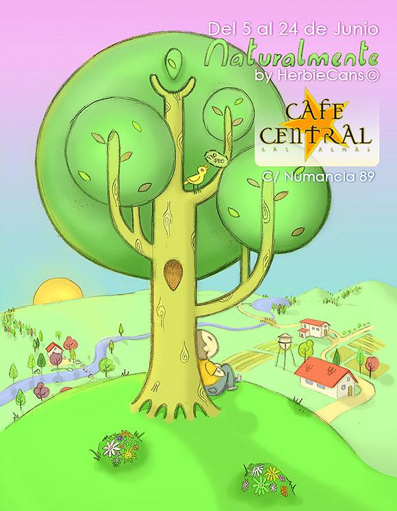 Exposicion de HerbieCans del 5 al 24 de junio en CafeCentral-yesland_cartel.jpg