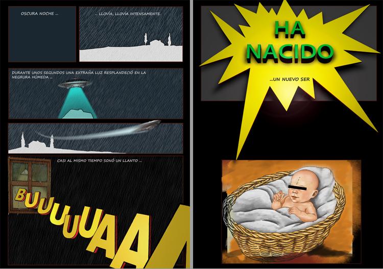 Historia de un Superheroe  -realizacion de un comic atipico desde 0-comi-pag2.jpg