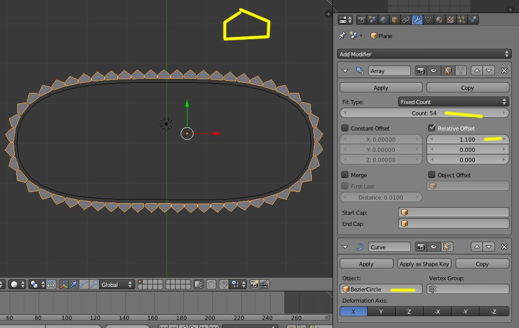 como añadir varios objetos a una curva bezier  -cadena1.jpg