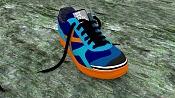 Unas zapatillas de deporte que he modelado para practicar con Blender -munichmyway.pg.jpg