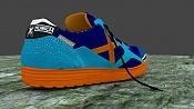 Unas zapatillas de deporte que he modelado para practicar con Blender -munichmyway02.jpg