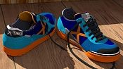 Unas zapatillas de deporte que he modelado para practicar con Blender -munichmyway05.jpg