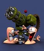 Con esto y un bizcocho    -worms4.jpg