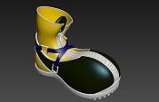 WIP Personaje: Sora - Reto Personal-zapato.jpg