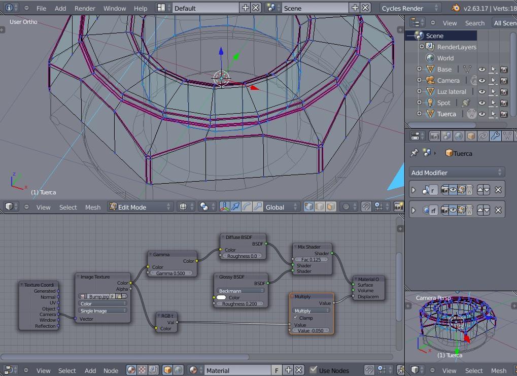 Video Tutorial Modelado de una tuerca sencilla  Blender-seleccion_007.jpg