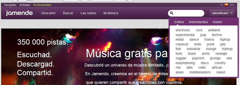 Musica libre de derechos para una reel de modelado -jamendo.jpg