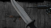 after Effects and Sony Vegas Template: 3D Throwing Knife Intro-knife.jpg