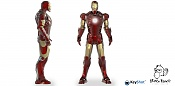 Render y Prueba de materiales Iron Man 3D Max Y Keyshot-iron-man-final.jpg