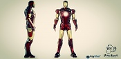 Render y Prueba de materiales Iron Man 3D Max Y Keyshot-iron-man-final2.jpg