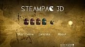 Steampac 3d: videojuego arcade de laberinto realizado con blender-steampac_intro.jpg