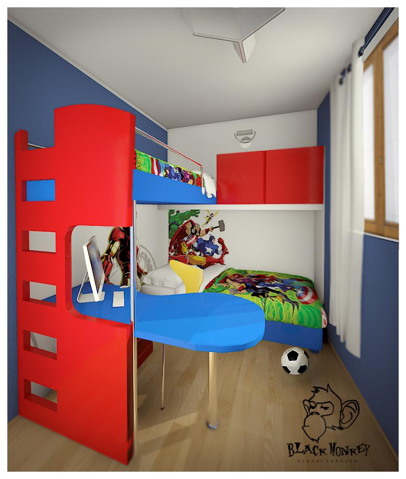 Dormitorio ni os - Dormitorio de ninos ...