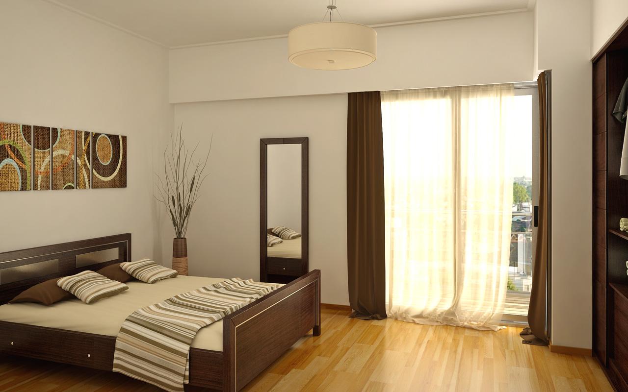 Casa en el campo y algunos renders interiores for Interiores de apartamentos