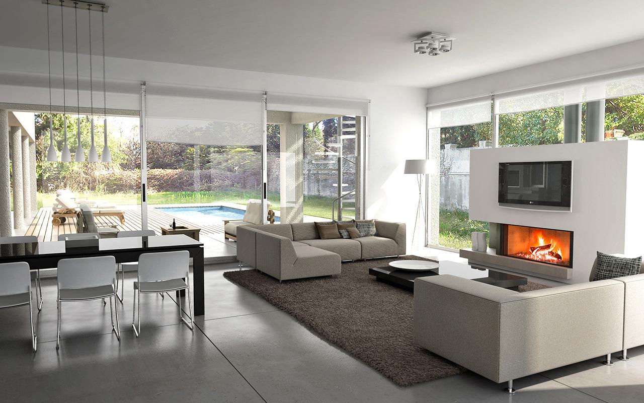 decoracao de interiores casas de campo:casa en el campo y algunos renders interiores-interior-onelli.jpg