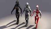 Droid Girl  asset para Unity3D -screen03.jpg