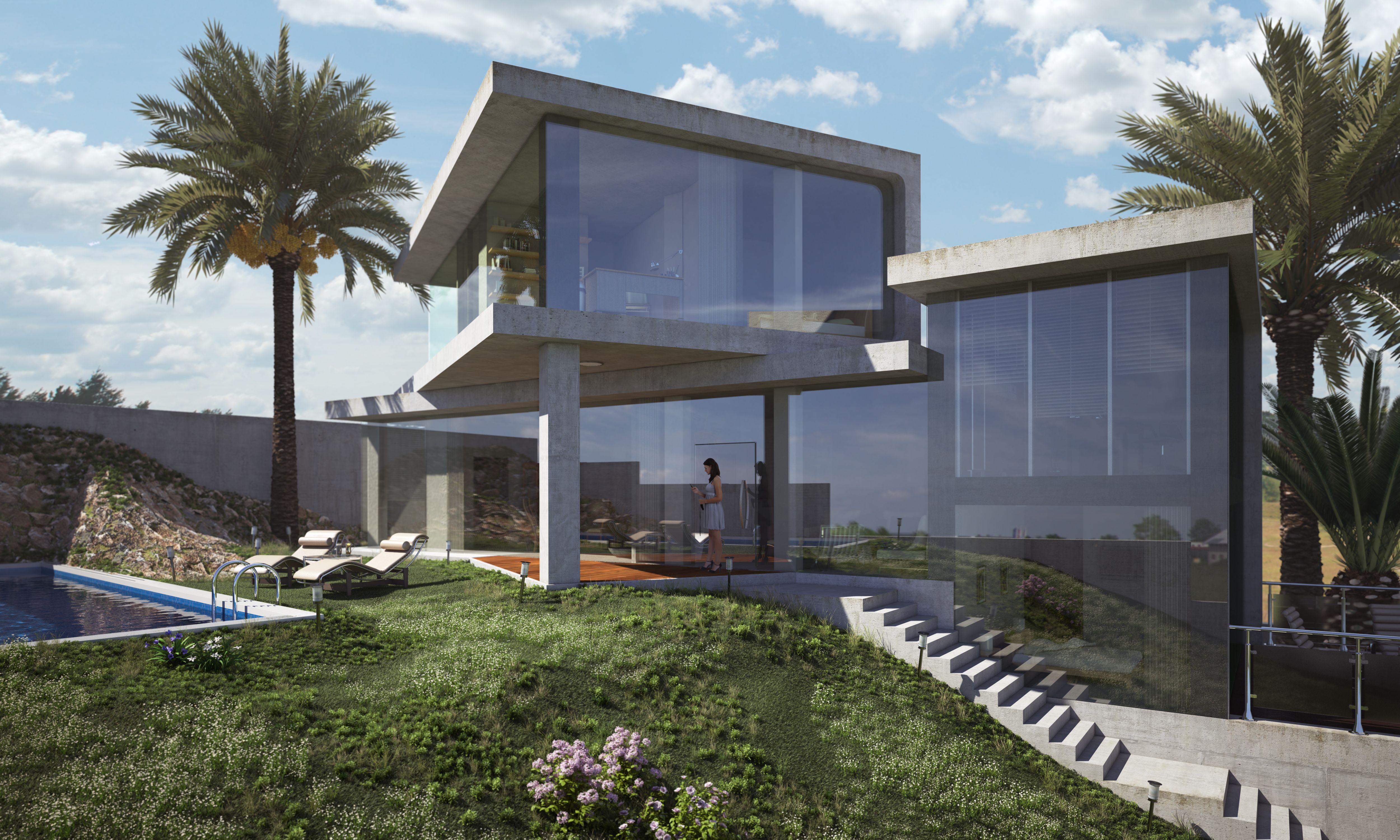 Minimalista for Render casa minimalista