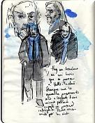 Dibujos rapidos , Bocetos  y apuntes  en papel -journal009.jpg
