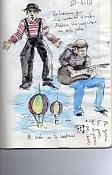 Dibujos rapidos , Bocetos  y apuntes  en papel -journal019.jpg