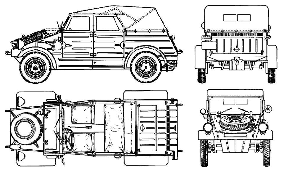 coche ejercito aleman segunda guerra mundial