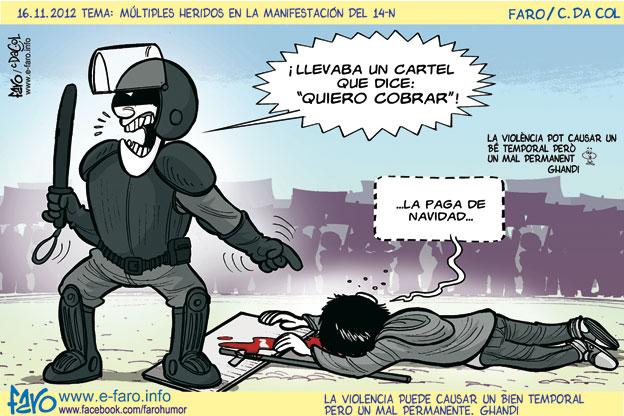 La dichosa crisis-121116.mosso.antidisturbios.agresion.herido.manifestacion.cobrar.jpg