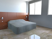 Necesito consejos para conseguir un render mas realista  Mental Ray -dormitorio2.jpg