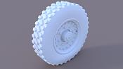Reto modelado del FV721 Fox  Paso a Paso Modelado, Texturas y render -neumatico1.png