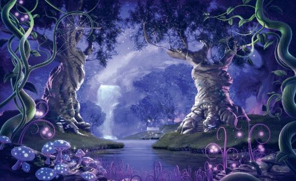 El bosque encantado de disney