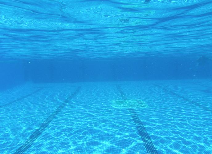 ayuda para niebla en fondo piscina