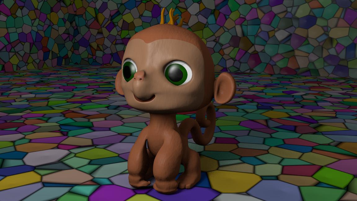 Modelando El mono malvado-monito3.png