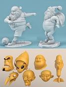 Digital Rebel academy: Curso personajes 3D para animacion -escultura_01.jpg