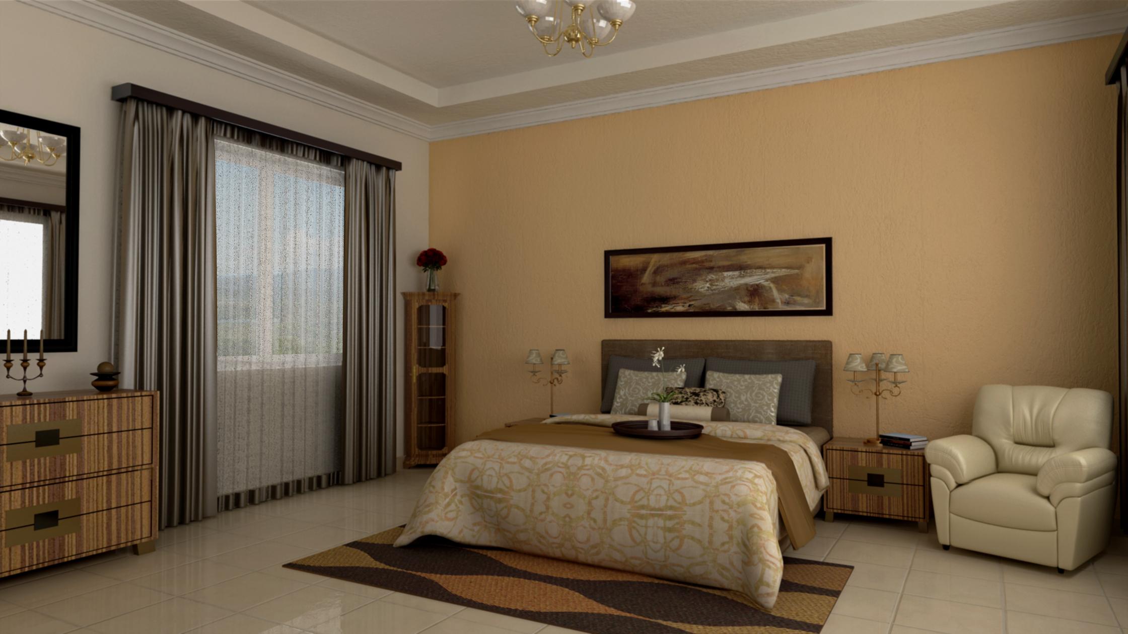 Sala y dormitorio for Dormitorio sala