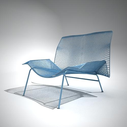 General modelo de silla para el balcon o jardin for Sillas para 3d max