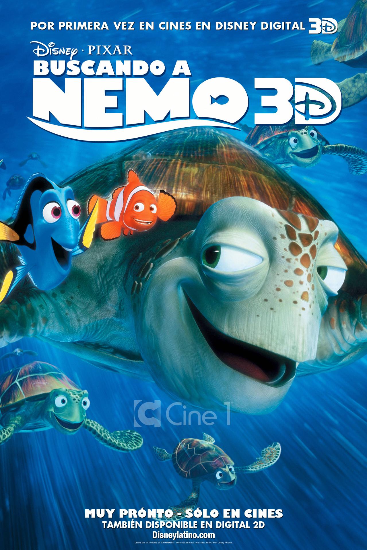 Galerry finding nemo dvd